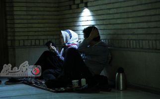 تصاویری فوق العاده زیبا از عزاداری شب قدر در مصلی تهران