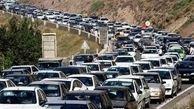 ترافیک سنگین و نیمه سنگین در محورهای منتهی به مرزهای مهران،شلمچه، خسروی و چذابه