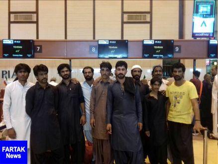 آزادی ۱۰ ملوان ایرانی زندانی در کراچی پاکستان