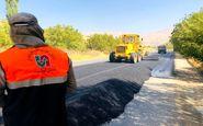 اجرایی عملیات بهسازی و روکش آسفالت محورهای مواصلاتی استان کرمانشاه