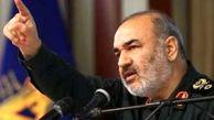 سرلشکر سلامی: آمریکا فروپاشیده است/ ملت ایران در اوج اقتدار و عزت مشکلات را پشت سر میگذارد