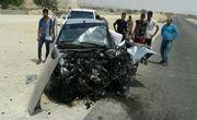 تصادف در جاده مرگ 3 مصدوم برجای گذاشت