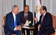دیدار محرمانه نتانیاهو و سیسی درباره اوضاع غزه