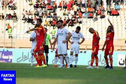 حاشیه های دیدار تیم های فوتبال فولاد خوزستان و سپیدرود