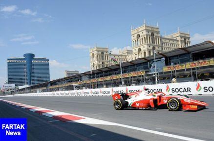 مسابقات بین المللی اتومبیلرانی ' فرمول -1 ' باکو آغاز شد