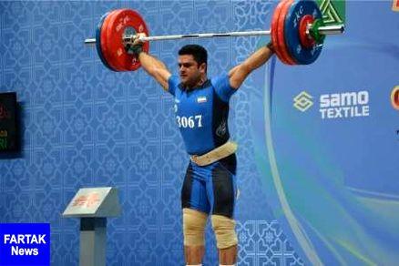 براری در رقابت های وزنه برداری قهرمانی جهان ششم شد