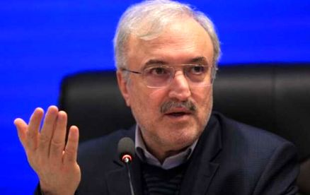 واکنش وزیر بهداشت به صحبت های تند امیرحسین رستمی در برنامه زنده +فیم