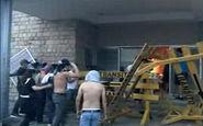 آتش زدن دادگاه عالی انتخابات بولیوی به دست معترضان + فیلم