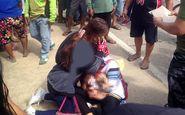 گیر کردن روسری در چرخ موتور کودک 9 ماهه را به کشتن داد+عکس