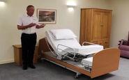 کمک عجیب یک تخت مدرن به حرکت معلولان + فیلم