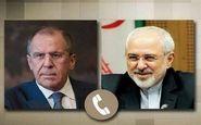 ظریف با سرگئی لاوروف تلفنی گفتگو کرد