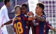 ستاره 17 ساله زننده چهارصدمین گل بارسلونا در ال کلاسیکو