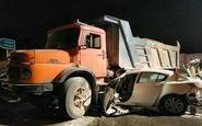 3کشته در اثر بیاحتیاطی راننده کامیون در آزادراه زنجان- قزوین