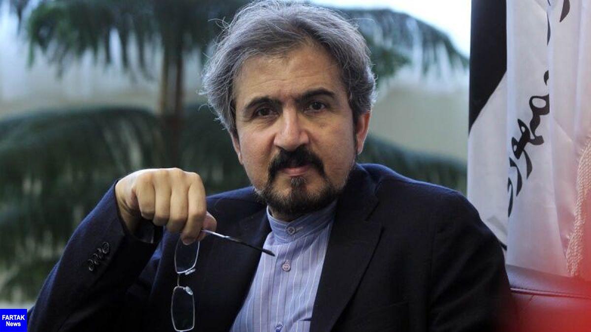بهرام قاسمی: تشدید فشار حداکثری بر ایران، ترویج یکجانبه گرایی است