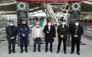 ادای احترام مدیر عامل باشگاه سپاهان به شهدای خطه اذربایجان شرقی