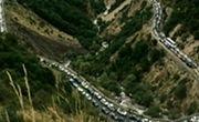جاده قدیم رشت قزوین مسدود شد