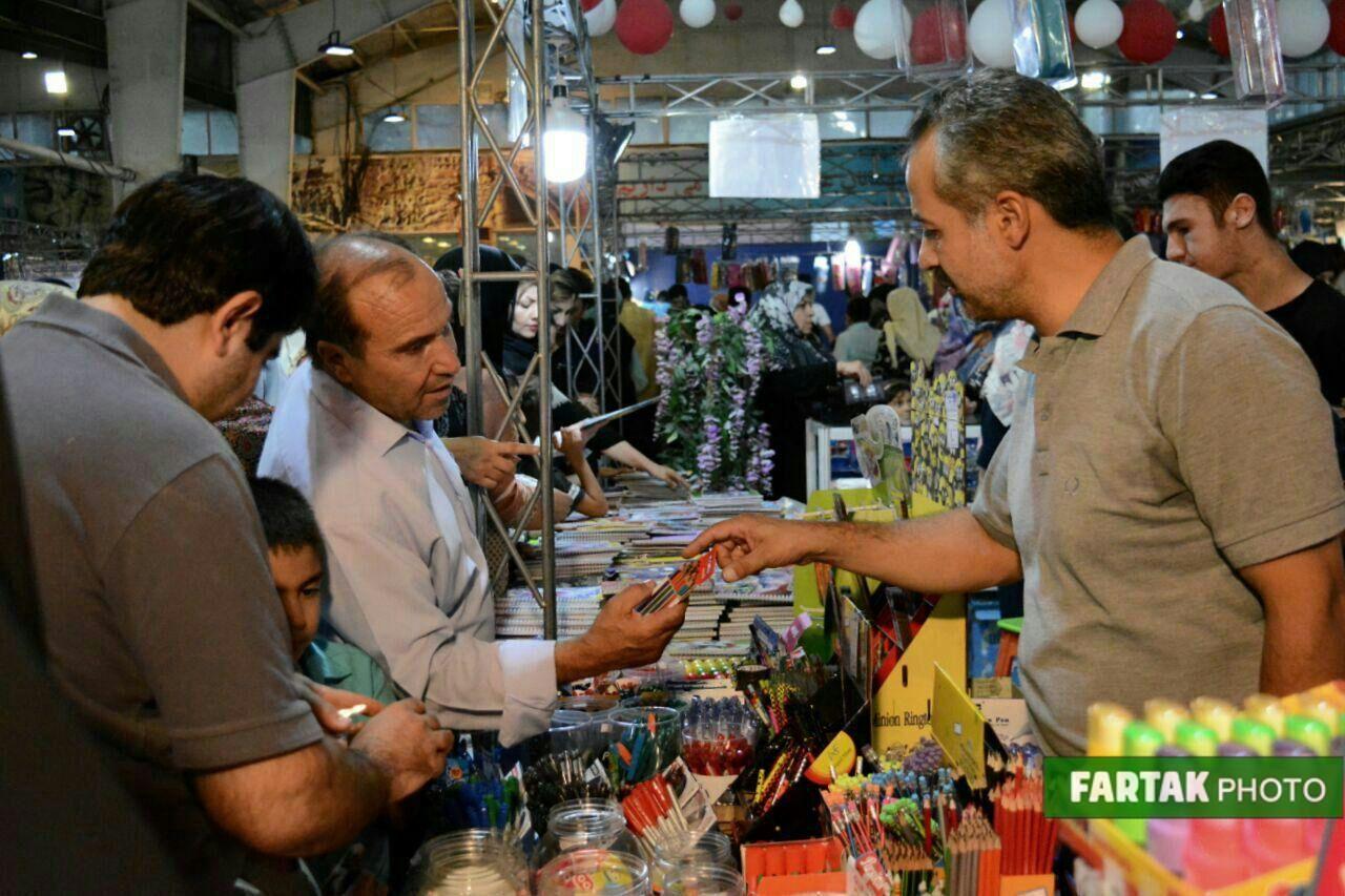 برپایی نمایشگاه فروش پاییزه ویژه بازگشایی مدارس در نمایشگاه بینالمللی کرمانشاه