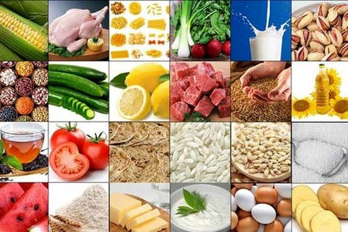نگاهی به جدیدترین قیمت اقلام خوراکی در میادین