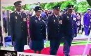 سوتی خنده دار افسران ارشد پلیس آفریقای جنوبی در مراسم خاکسپاری