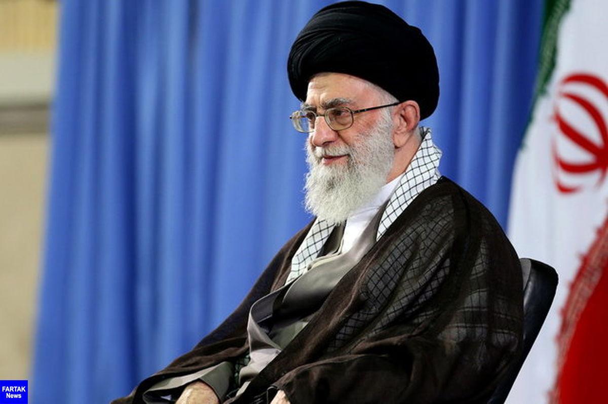 آیت الله خامنه ای: تحریمی که آمریکاییها علیه ملت ایران به کار گرفتند، یک جنایت است