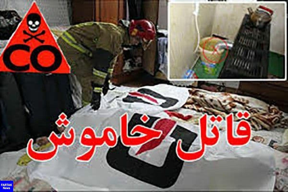 جانباختن 13 نفربه علت مسمومیت با گاز منو کسید کربن در استان کرمانشاه