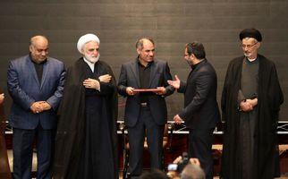 آیین تکریم و معارفه رؤسای کل پیشین و جدید دادگستری استان کرمانشاه به روایت تصویر