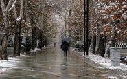 پیش بینی آب و هوا/بارش باران و برف در 12 استان کشور از امروز