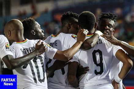 دو تیم غنا و کامرون راهی دور بعدی جام ملت های آفریقا شدند
