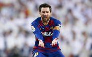 شادمانی جالب مسی به یاد مارادونا