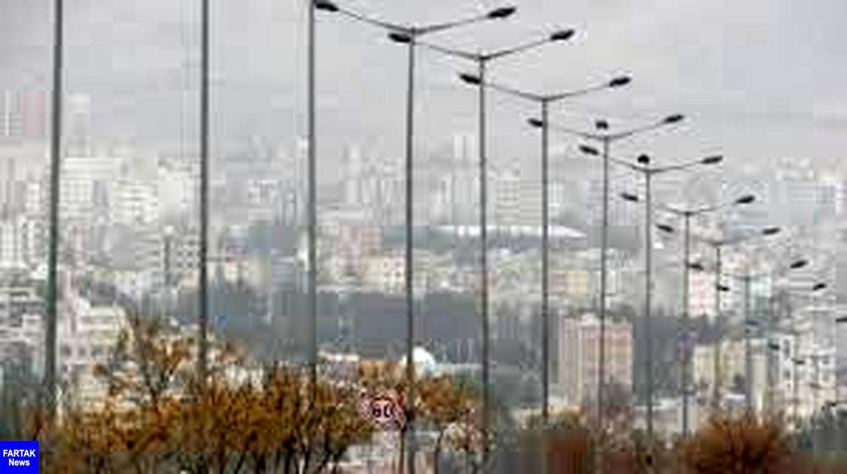 هوای البرز در وضعیت اضطرار قرار گرفت