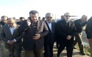بازدید رییس مجلس از مناطق سیل زده استان مازندران
