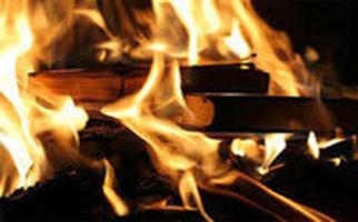 واکنش ها به آتش زدن کتاب پزشکی هاریسون