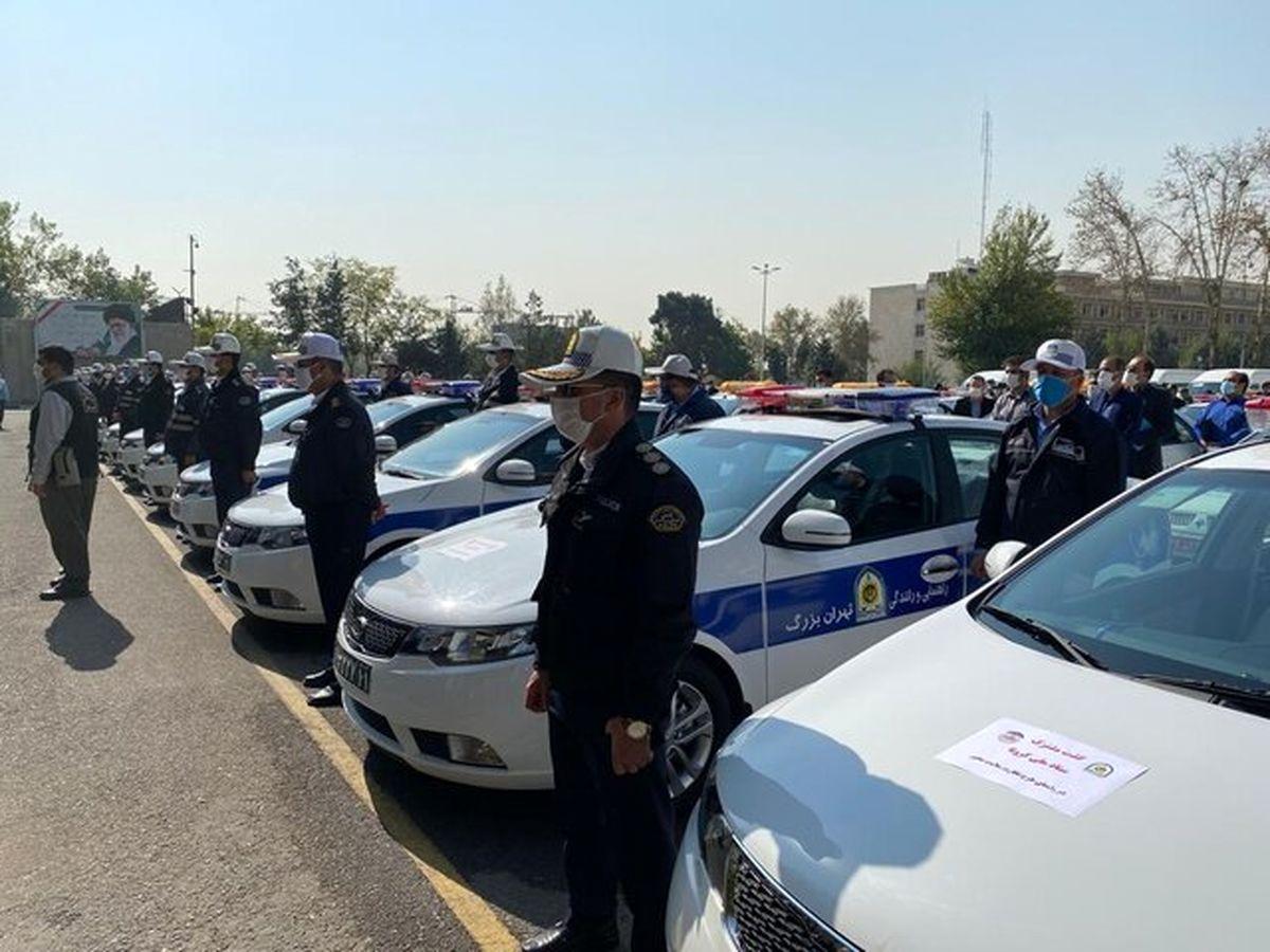 جریمه ۶۰۰۰ خودرو به دلیل عدم رعایت پروتکلهای کرونایی