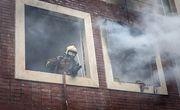 آتشسوزی مهیب مجتمع مسکونی در رشت؛ ۲۰ نفر مصدوم شدند