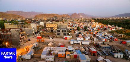 کانکسهای مناطق زلزله زده کرمانشاه جمع میشود