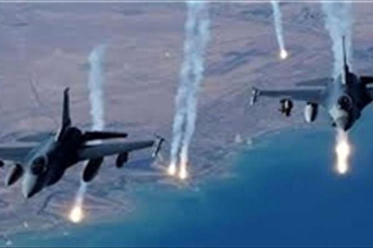 حملات هوایی عربستان به استانهای مختلف یمن