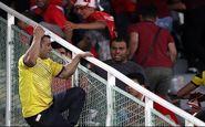 تماشاگر چاقوکش در بازی پرسپولیس - نفت مسجدسلیمان چگونه دستگیر شد؟
