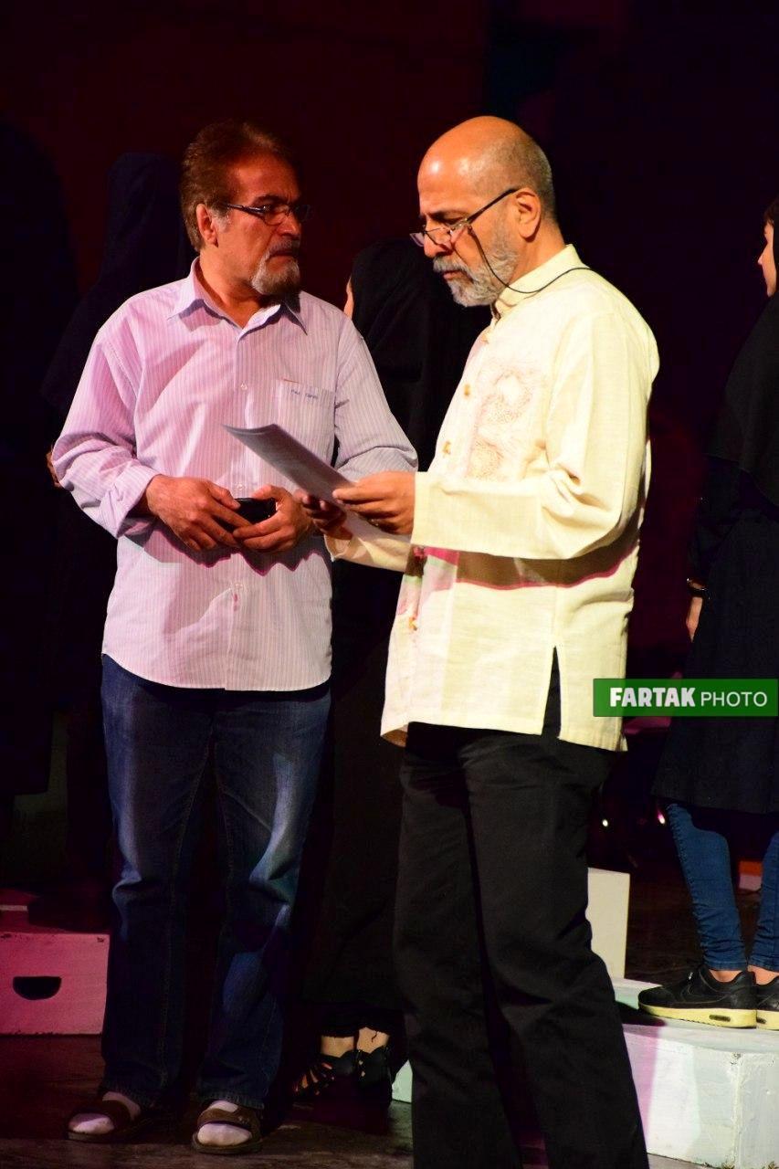 اجراخوانی نمایش ادیپ شهریار به روایت تصویر
