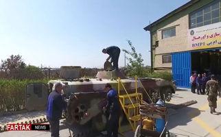 فیلم کارواش تانک های ایرانی