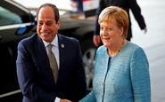مرکل و سیسی روابط مستحکم مصر و آلمان را ستودند
