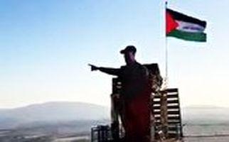 رونمایی از پیکره نمادین شهید سلیمانی در لبنان