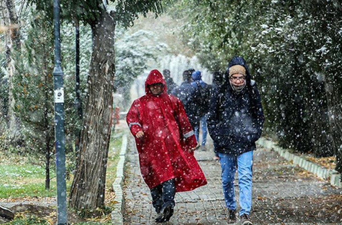 هواشناسی ایران ۹۹/۷/۱۵ هوای شمال ۸ درجه سرد میشود