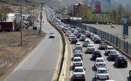 ترافیک نیمه سنگین در هراز و فیروزکوه/ احتمالا هراز فردا یکطرفه میشود