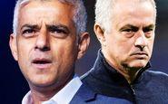 انتقاد شهردار لندن از مورینیو: به شیوع کرونا کمک کردی!