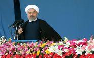 روحانی : تاریخ دفاع 8 ساله سرمشق و راه آینده ماست