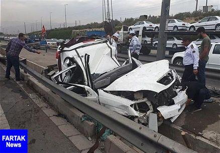 تصادفات درون شهری در کرمانشاه ۵۲ درصد کاهش یافت