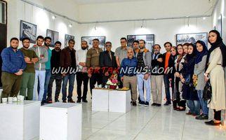 برگزاری نمایشگاه عکس از مناطق زلزله زده کرمانشاه در تئاتر شهر آبادان