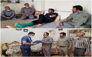 عیادت و قدردانی مسئولان محیط زیست از کارکنان مصدوم منابع طبیعی استان کرمانشاه