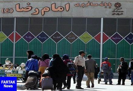 ۲.۵ میلیون مسافر به مشهد سفر کردند
