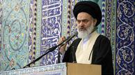 آیت الله حسینی بوشهری: زیر بار مذاکره با آمریکا نمیرویم